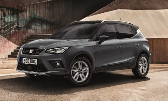 The SEAT Arona available in metallic paint at no extra cost