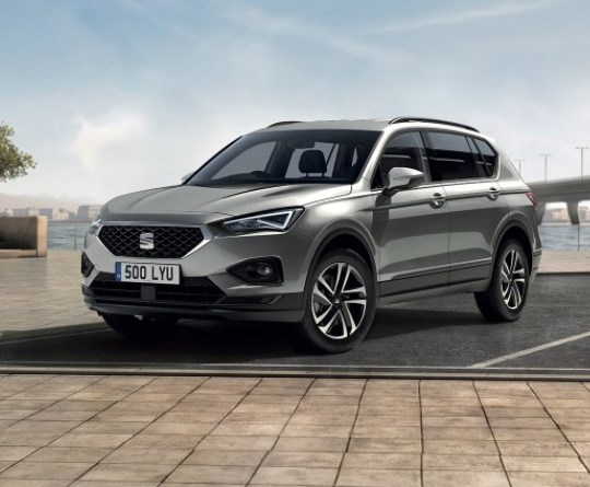 The SEAT Tarraco available with 0% finance over 48 months