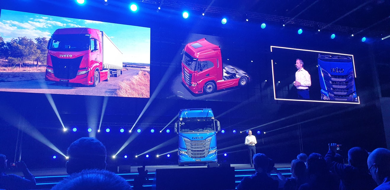 New IVECO S-WAY launched in Madrid