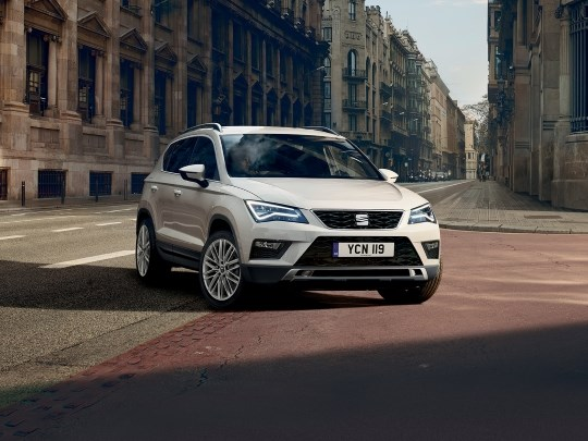 The SEAT Ateca Xcellence 1.5TSI 150ps for £289 per month on PCH