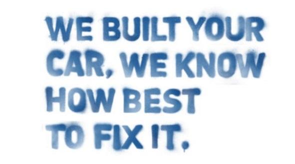 We Built Your Car We'll Fix It