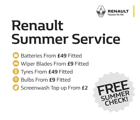 Renault Summer Service