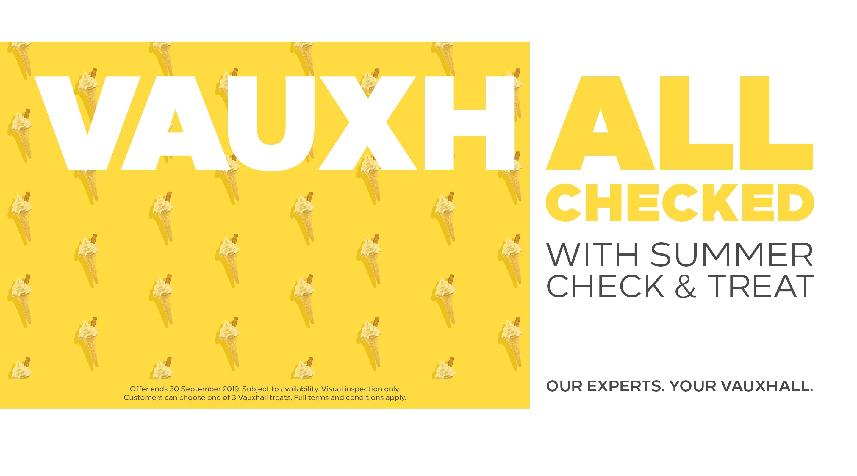 Vauxhall Summer Check & Treat
