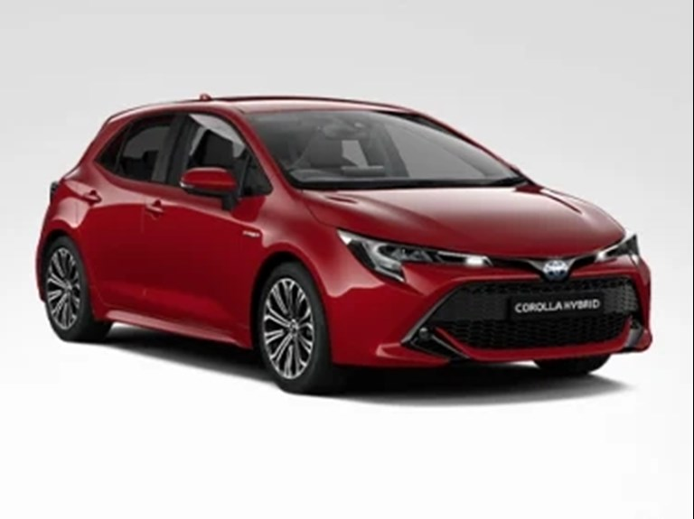 All New Corolla Hybrid Design