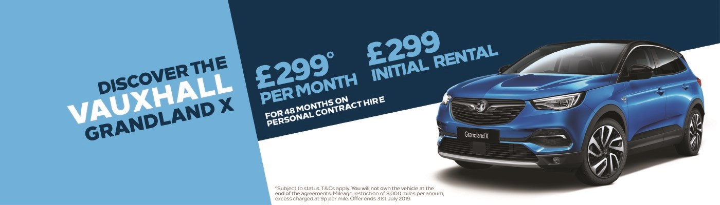 Grandland X £299 per month