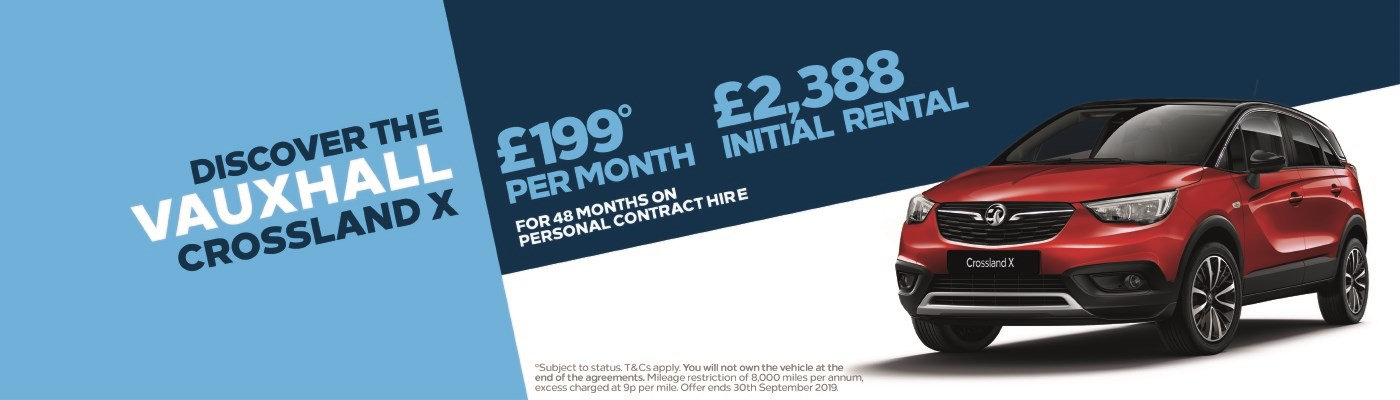 Crossland X £199 per month