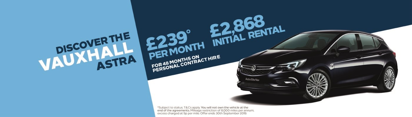 Astra £239 per month