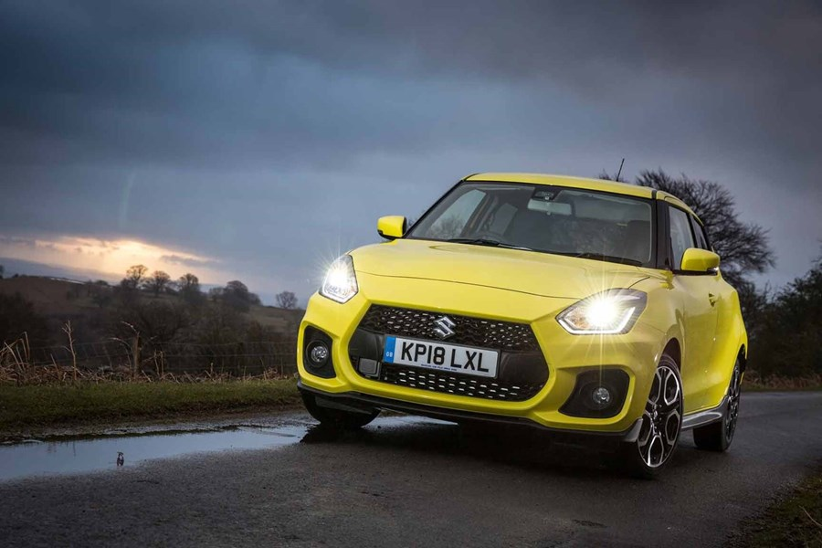 Swift Sport - £2,000 customer saving off MRRP