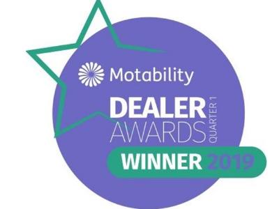 Drive Vauxhall winner of Q1 Motability Dealer Awards