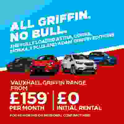 New Vauxhall Griffin Range - All Griffin, No Bull