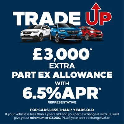 New Vauxhall Trade Up Scrappage Offer