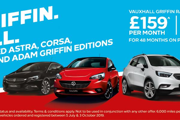 Vauxhall Griffin range from £159
