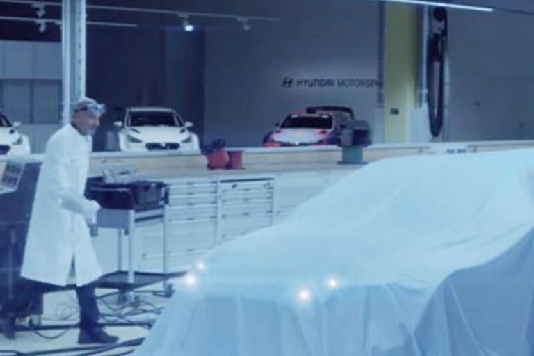 Hyundai Motorsport teases electric race car debut at IAA 2019