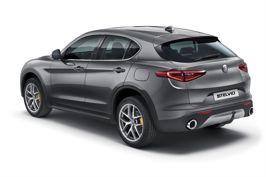 DETACHABLE TOW BAR FOR STELVIO AND SUPER VERSIONS