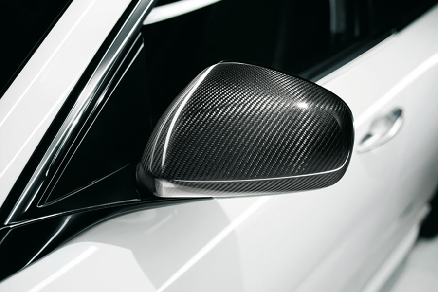 REARVIEW MIRROR COVER IN CARBON FIBRE