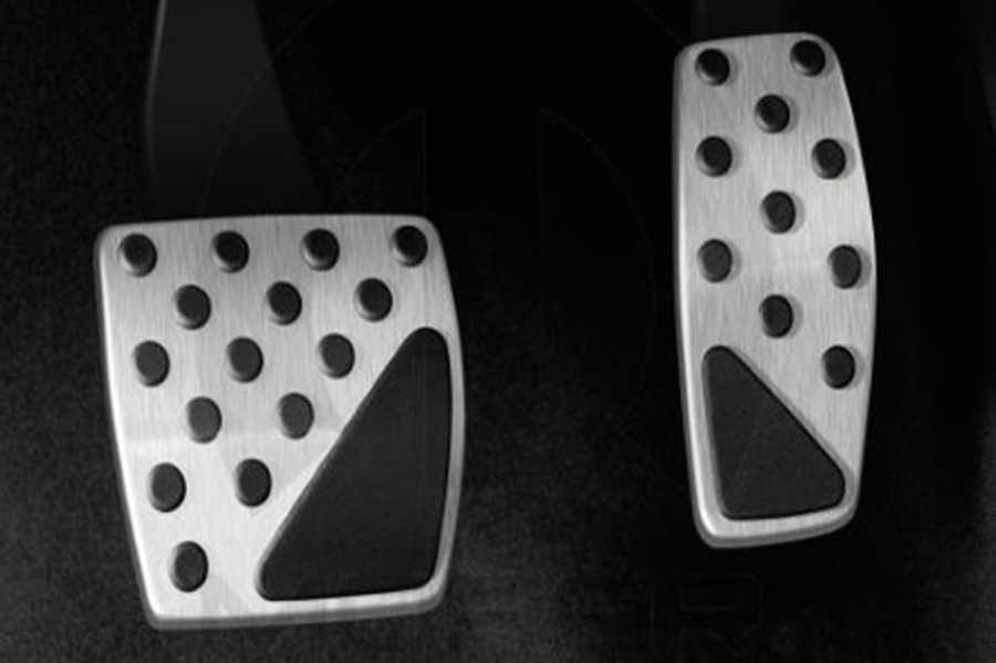 BRAKE AND ACCELERATOR PEDALS FOR AUTOMATIC TRANSMISSION
