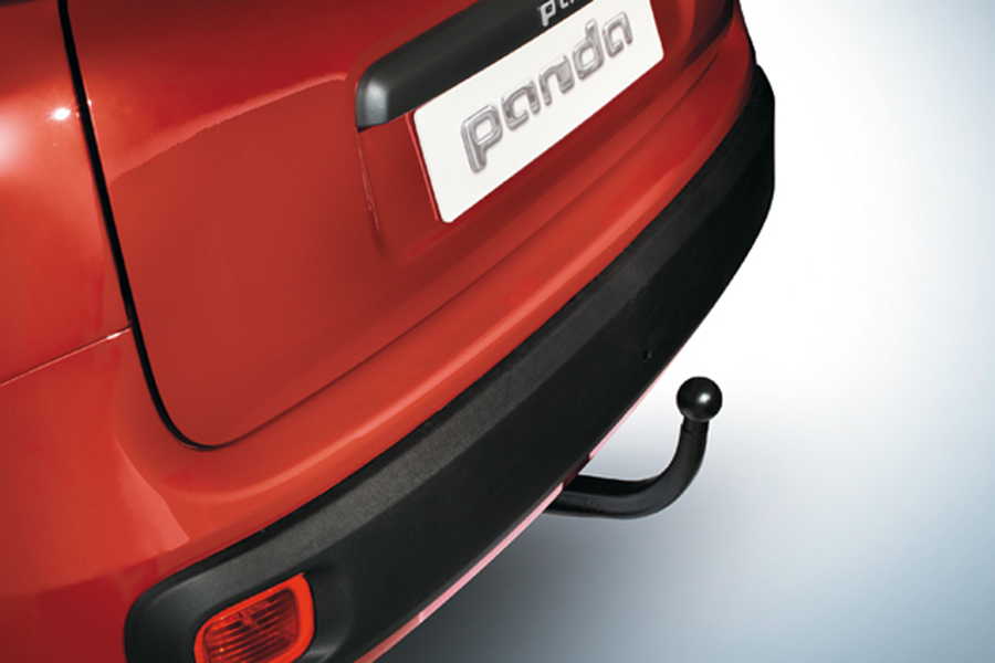 DETACHABLE TOW BAR WITHOUT WIRING SYSTEM - FOR 4X4 AND TREKKING VERSION. NOT FOR CNG AND GPL.