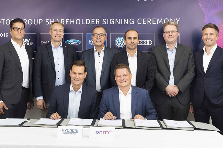 Hyundai Motor Invests in IONITY High-Power EV Charging Network